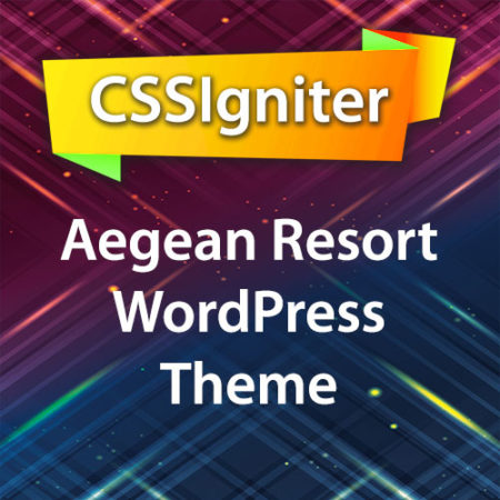CSSIgniter Aegean Resort WordPress Theme