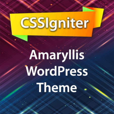 CSSIgniter Amaryllis WordPress Theme