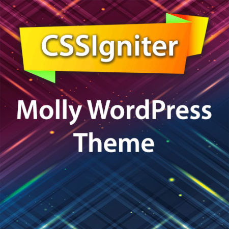 CSSIgniter Molly WordPress Theme