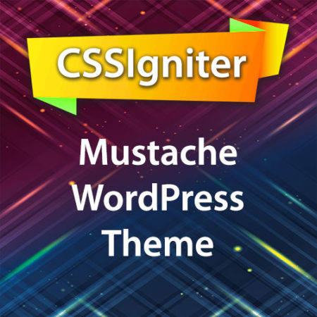 CSSIgniter Mustache WordPress Theme