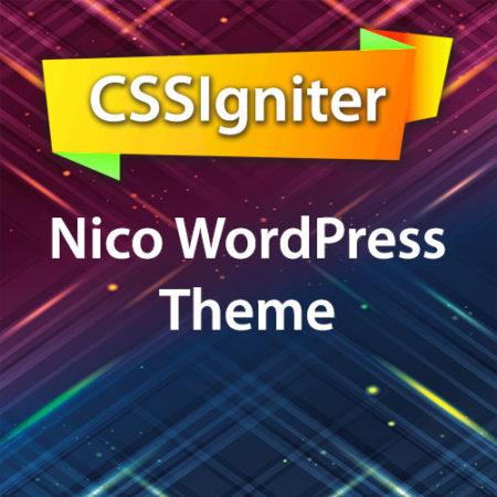 CSSIgniter Nico WordPress Theme