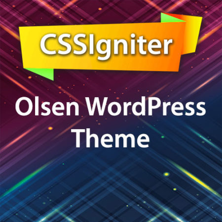 CSSIgniter Olsen WordPress Theme