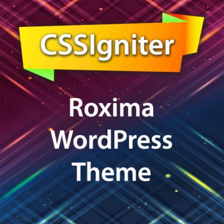 CSSIgniter Roxima WordPress Theme