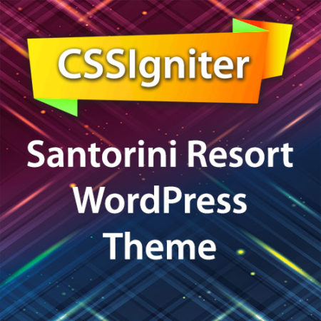 CSSIgniter Santorini Resort WordPress Theme