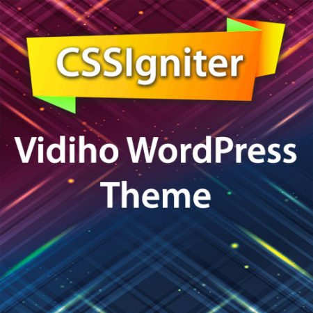 CSSIgniter Vidiho WordPress Theme