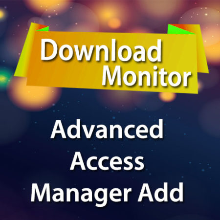 Download Monitor Advanced Access Manager Add on