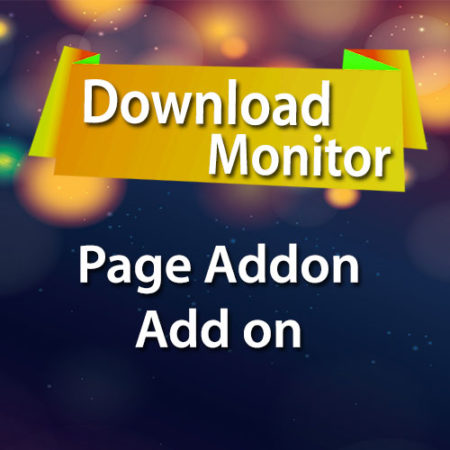 Download Monitor Page Addon Add on