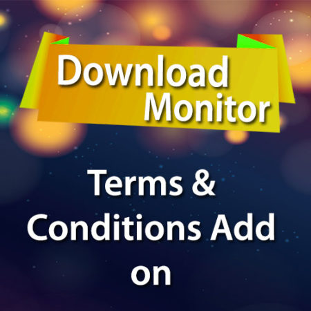 Download Monitor Terms & Conditions Add on