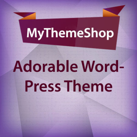 MyThemeShop Adorable WordPress Theme