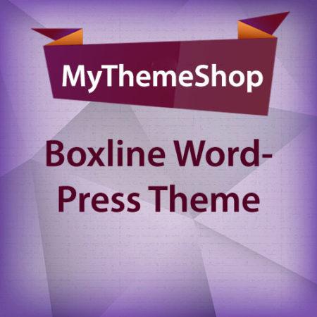 MyThemeShop Boxline WordPress Theme