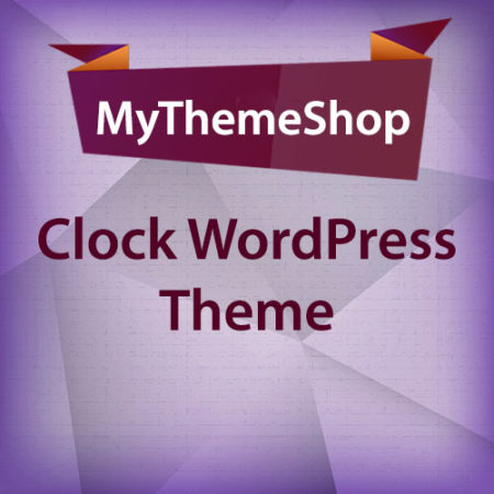 MyThemeShop Clock WordPress Theme