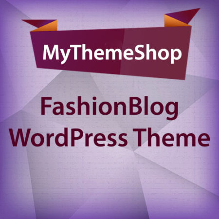 MyThemeShop FashionBlog WordPress Theme