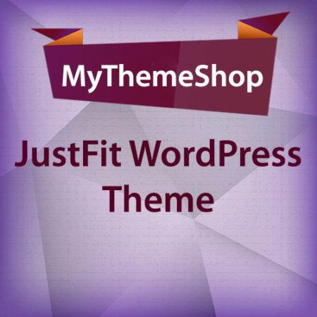 MyThemeShop JustFit WordPress Theme