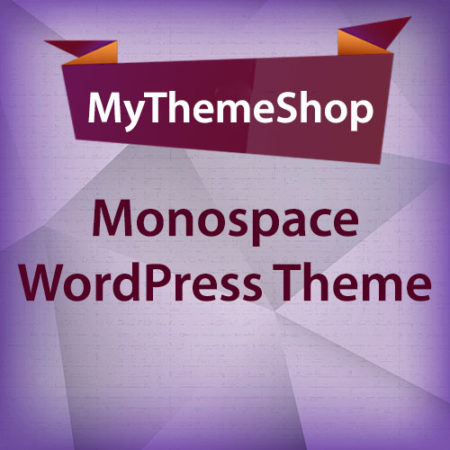 MyThemeShop Monospace WordPress Theme