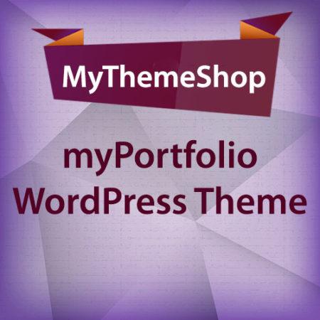 MyThemeShop myPortfolio WordPress Theme