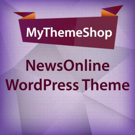 MyThemeShop NewsOnline WordPress Theme