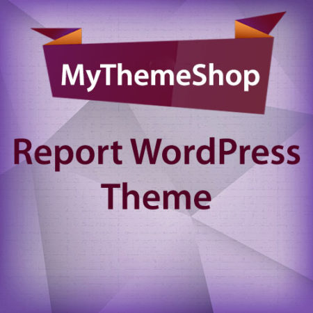 MyThemeShop Report WordPress Theme