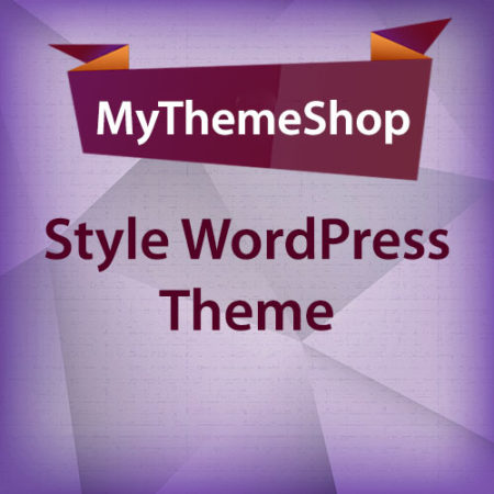 MyThemeShop Style WordPress Theme