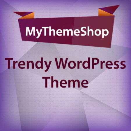 MyThemeShop Trendy WordPress Theme
