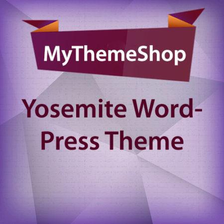 MyThemeShop Yosemite WordPress Theme