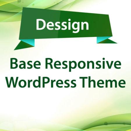 Dessign Base Responsive WordPress Theme