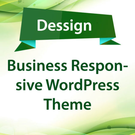 Dessign Business Responsive WordPress Theme