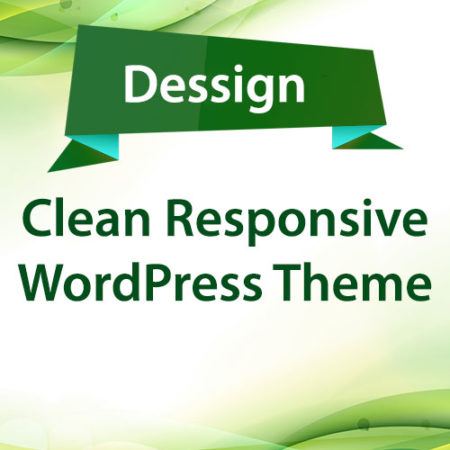 Dessign Clean Responsive WordPress Theme