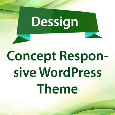 Dessign Concept Responsive WordPress Theme