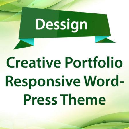 Dessign Creative Portfolio Responsive WordPress Theme