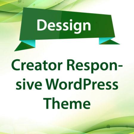 Dessign Creator Responsive WordPress Theme