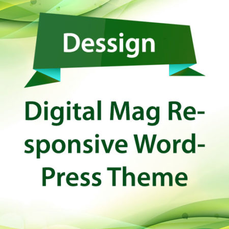 Dessign Digital Mag Responsive WordPress Theme