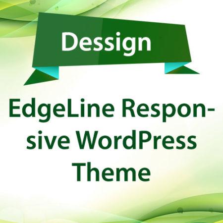Dessign EdgeLine Responsive WordPress Theme