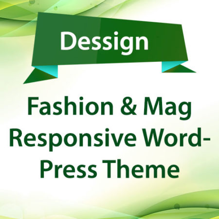 Dessign Fashion & Mag Responsive WordPress Theme