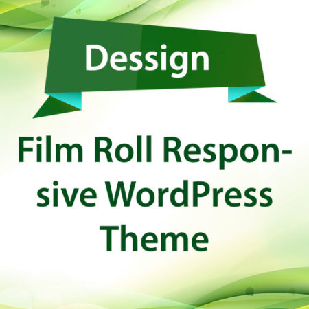 Dessign Film Roll Responsive WordPress Theme