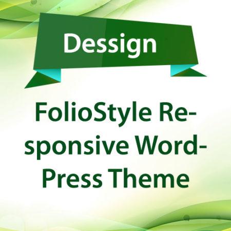 Dessign FolioStyle Responsive WordPress Theme