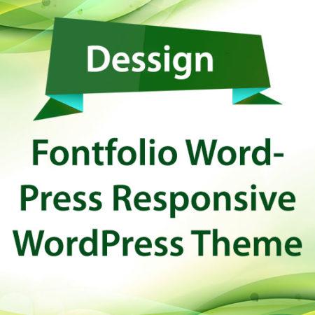 Dessign Fontfolio WordPress Responsive WordPress Theme
