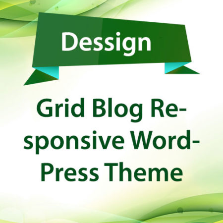 Dessign Grid Blog Responsive WordPress Theme