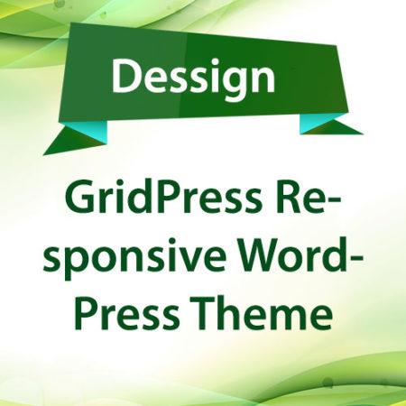 Dessign GridPress Responsive WordPress Theme