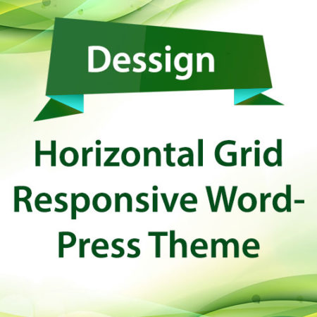 Dessign Horizontal Grid Responsive WordPress Theme