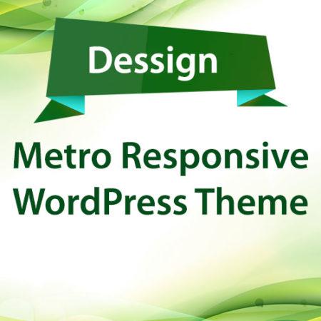 Dessign Metro Responsive WordPress Theme