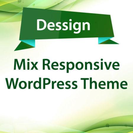 Dessign Mix Responsive WordPress Theme