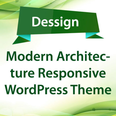 Dessign Modern Architecture Responsive WordPress Theme