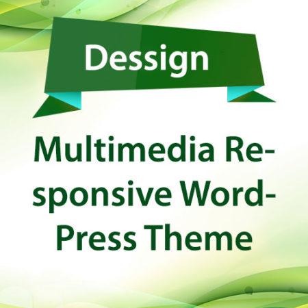 Dessign Multimedia Responsive WordPress Theme
