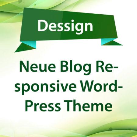 Dessign Neue Blog Responsive WordPress Theme