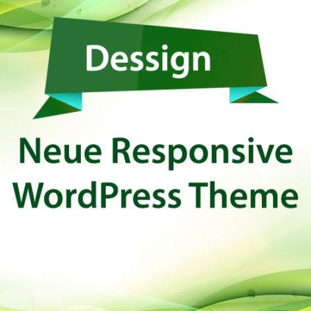 Dessign Neue Responsive WordPress Theme