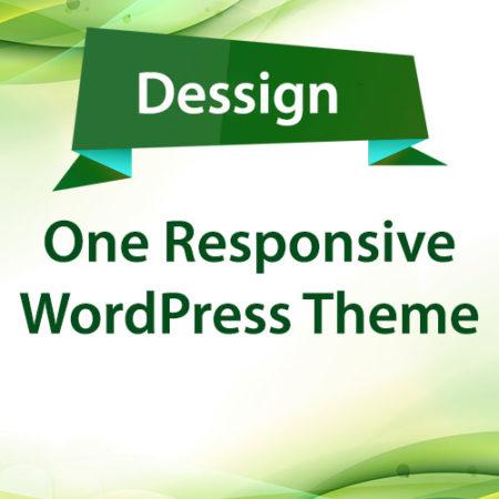 Dessign One Responsive WordPress Theme
