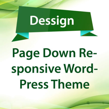 Dessign Page Down Responsive WordPress Theme