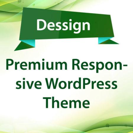 Dessign Premium Responsive WordPress Theme