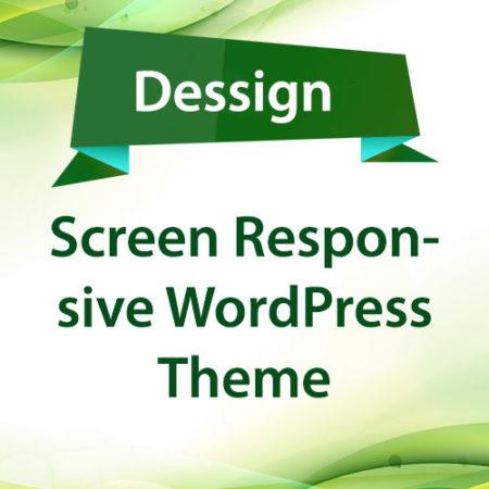 Dessign Screen Responsive WordPress Theme