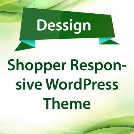 Dessign Shopper Responsive WordPress Theme